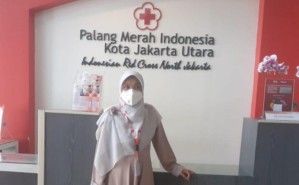 Kepala Unit Donor Darah PMI Jakarta Utara, dr. Ulfah Suryani, M.Biomed