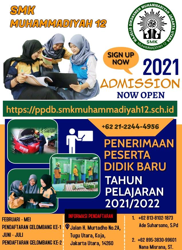 poster ppdb smk12