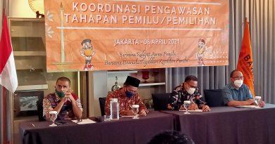 Bawaslu Jakut Gelar Rakor Tahapan Pengawasan Pemilu Bersama KPU.