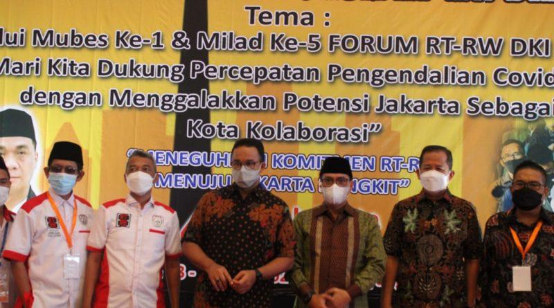 Mubes Forum RT/RW Se DKI Sebagai Ajang Percepatan Menuju DKI Jakarta Bangkit.