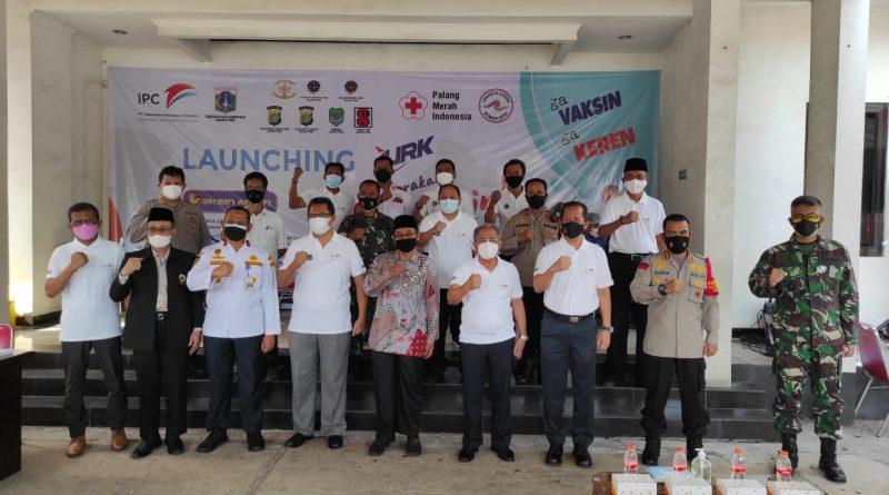 Walikota Jakut Buka Launching Gerakan Ayo Vaksin JURK.