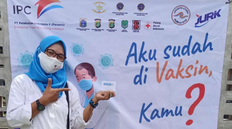 Gerakan Ayo Vaksin JURK Bersama Pelindo Lampauin Target.